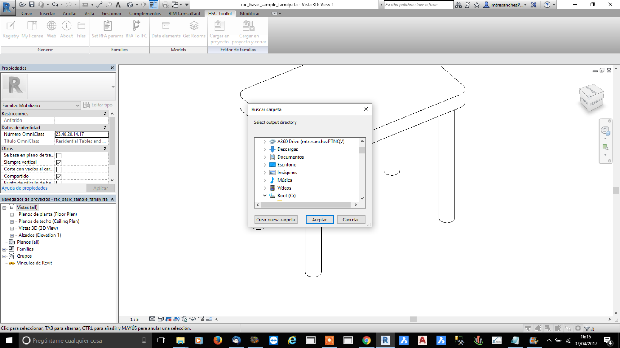HSC Revit toolkit